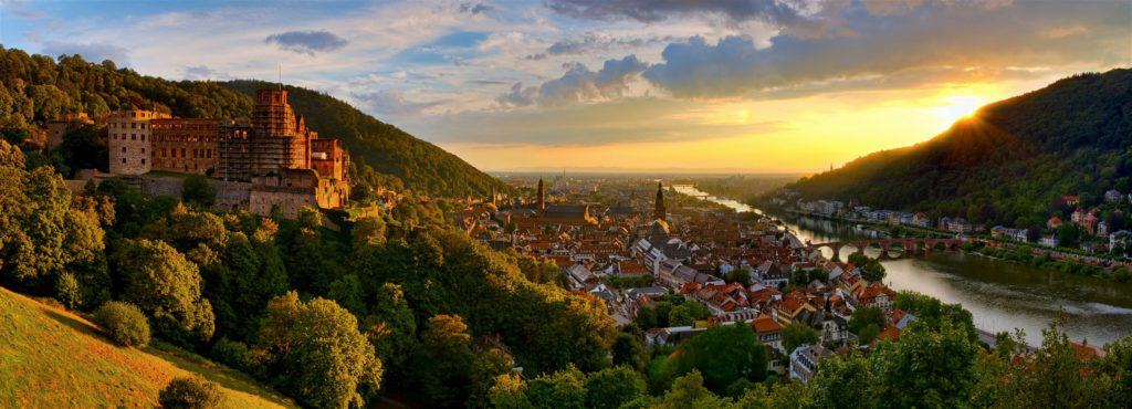 picture of heidelberg landscape