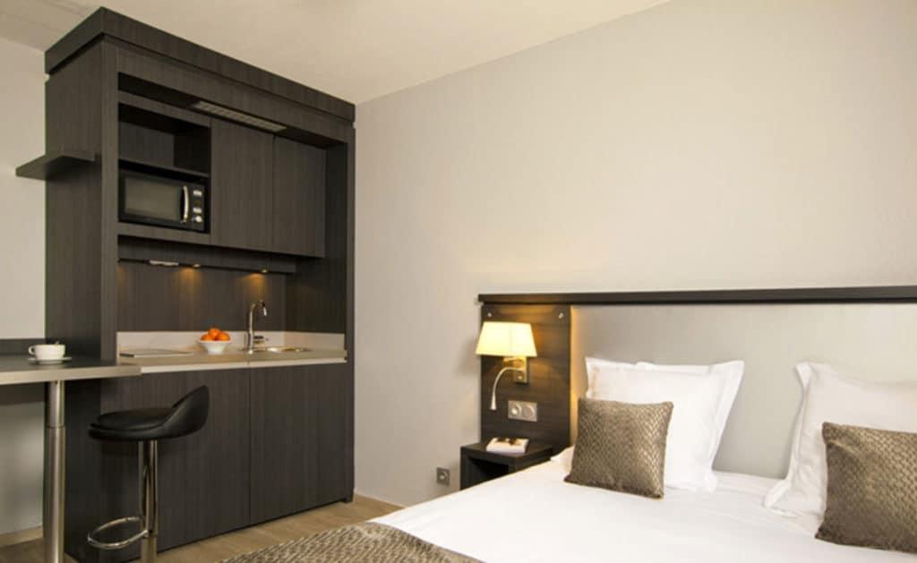 Quarto de Apart Hotel em Aix-en-Provence na França