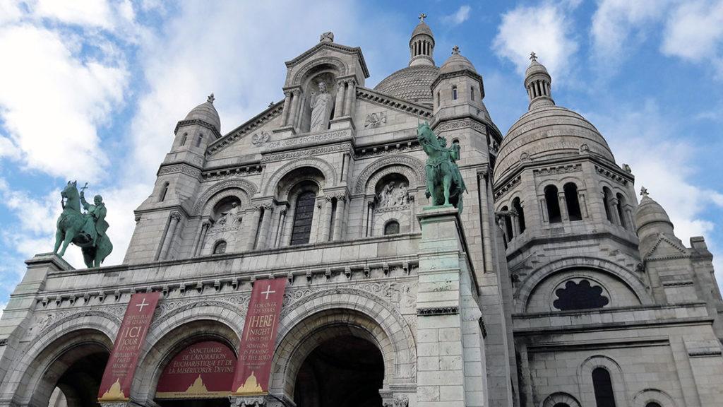 Basílica de Sacré Coeur em Montmartre
