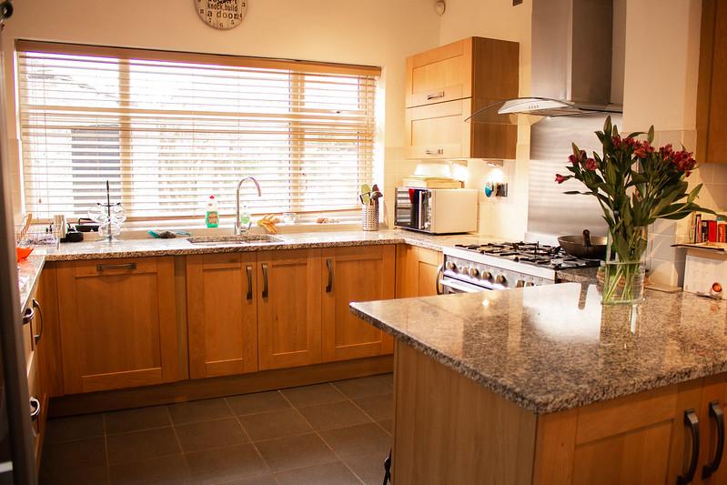 Cozinha em Casa de Família em Liverpool