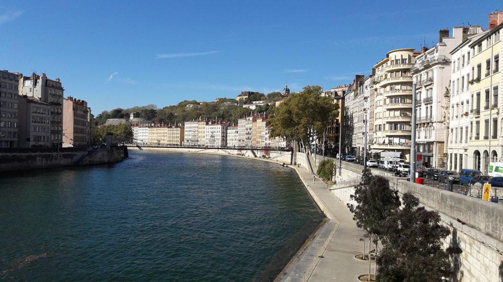 Cidade de Lyon na França