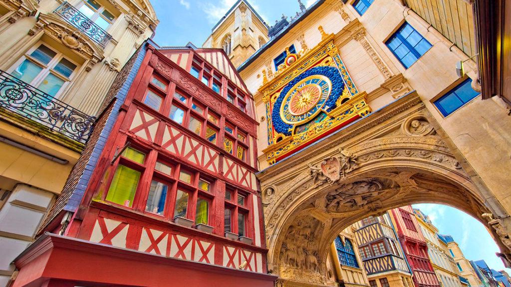 Cidade de Rouen na França